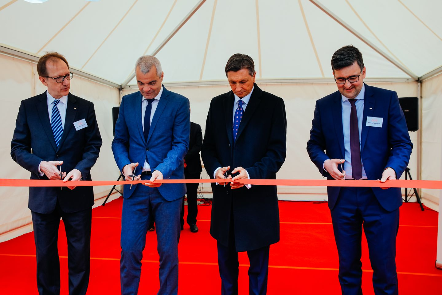 Henkel Maribor opened a new waste water treatment building